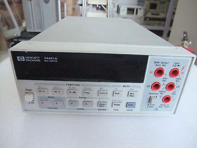 Agilent Hp Keysight 34401a Digital Multimeter 6.5 Digit Tested