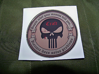 Craft International (Chris Kyle)   Decal  American Sniper- SEAL - Collector item on Rummage