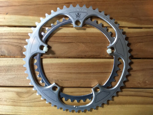 Vintage Stronglight 52 / 42 Chainring Set 144 BCD For Campagnolo - $89.99
