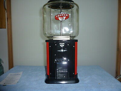 1950'S VICTOR TOPPER PEANUT  MACHINE RESTORED