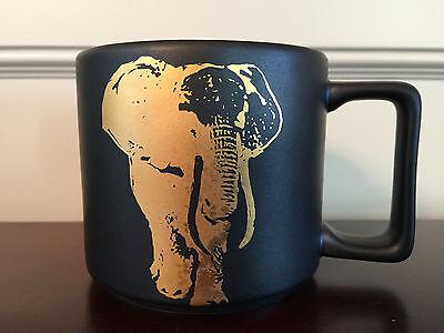 Starbucks Kenya Elephant Coffee Genre Mug 14 fl oz - Brand New