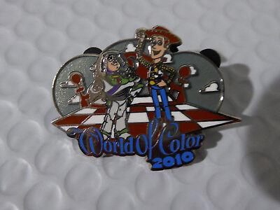 Disney Trading Pins 77808 DLR - Welt der Farbe 2010 - Buzz Lightyear und Woody ()