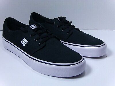 77436d7e6d DC Men s Trase TX Skate Shoes Black White