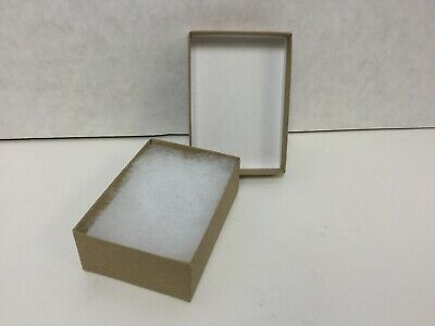 Staples Jewelry Boxes 3 116 X 2 18 X 1 Kraft 100 Per Box 32326
