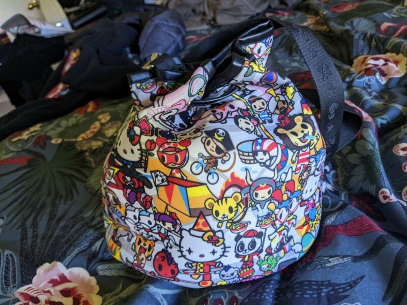 NEW TOKIDOKI X HELLO KITTY BAG / PURSE CROSSBODY BAG SHOULDER PURSE