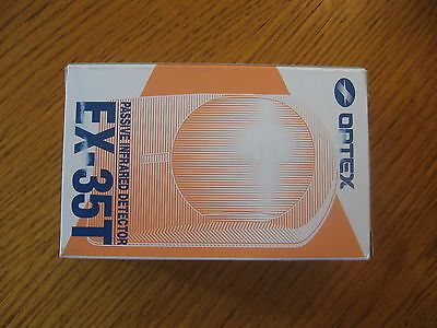 New Optex Ex-35t Motion Detector Passive Infrared Dual Pattern