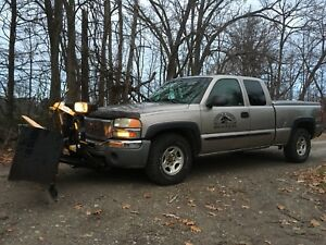 Pick-up-GMC Sierra 1500, 4 x 4, 2003, pelle minute mount 2