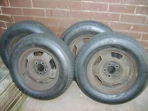 "4 Steel Wheels 14"" Ex-Volvo 240 Suit Volvo/Torana/Holden/Trailer Myaree Melville Area Preview"