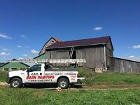 Barn painting and repairs all buildings Comercial and industrial