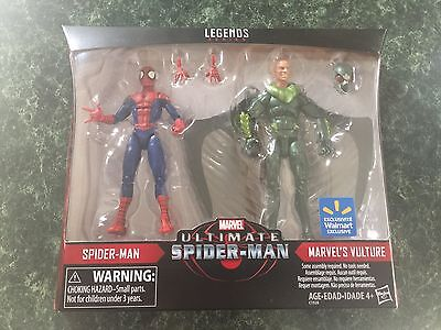 Marvel Legends Spider Man And Vulture Two Pack  Walmart Exclusive  In Hand
