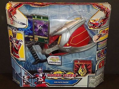 Kamen Rider Ryuki Dragon Knight DRAGVISOR Bandai Advent Cards Belt Toy Cosplay](Kim Possible Belt)