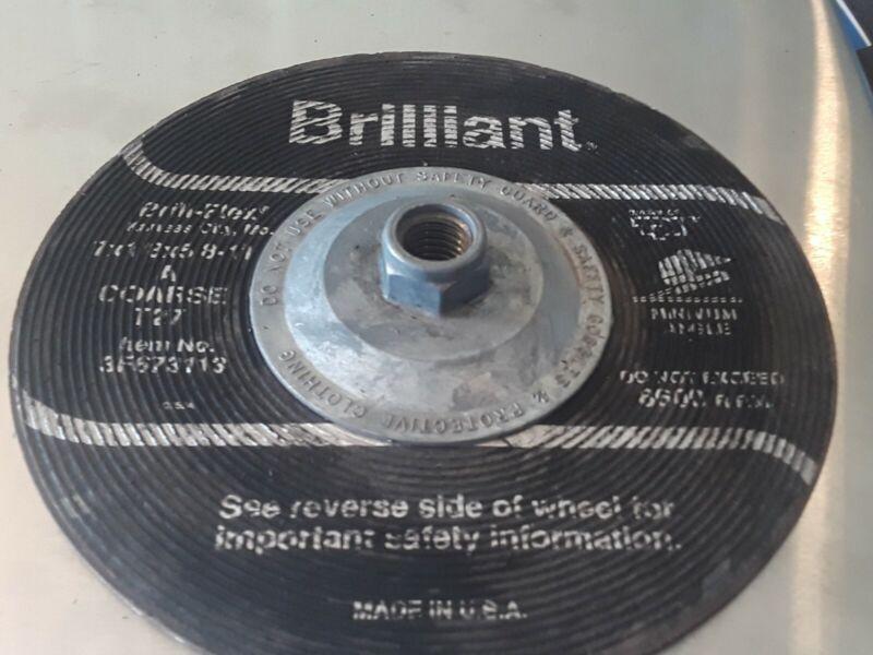 "Brilliant Brill-Flex 7"" Sanding Wheel."