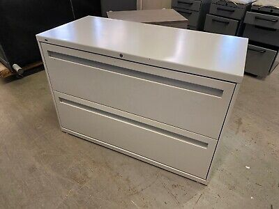 2 Drawer Lateral Size File Cabinet By Hon Office Furniture 42w Wlockkey