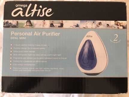 Omega Altise Air Purifier with Fragnance rack and Night Lamp