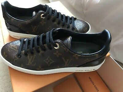 NEW Louis Vuitton Frontrow Monogram Sneakers Size 38 SOLD OUT
