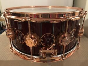 DW SNARE TIME MACHINE TOUR NEIL PEART