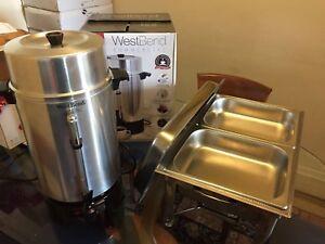 Chafing dish, coffee Urn rental $10