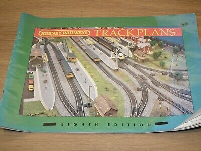 HORNBY RAILWAYS TRACK PLANS BOOK 8TH EDITION COMPLETE RARE EIGHTH EDITION 1994