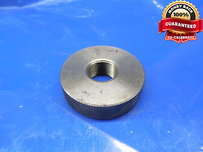 58 24 Solid Thread Ring Gage .625 58-24 .6250 .62500 Quality Inspection