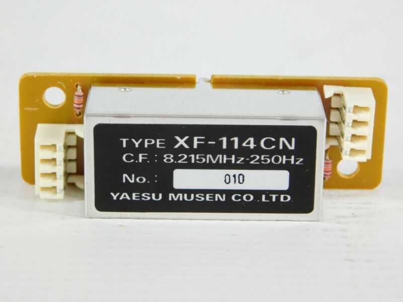 Yaesu XF-114CN 250Hz Narrow CW Filter for FT-1000MP Transceiver (good condition)