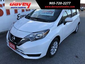 2018 Nissan Versa Note 1.6 SV BACK UP CAMERA, BLUETOOTH, MP3...