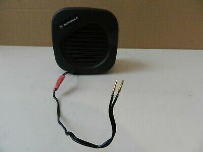 Motorola Mobile Radio External Speaker Hsn4024a