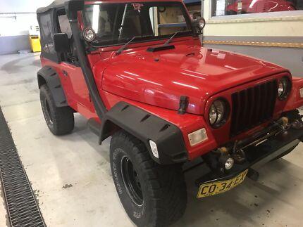 99 Jeep Wrangler