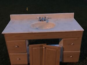 """FREE 48"""" vanity/counter/faucet"""