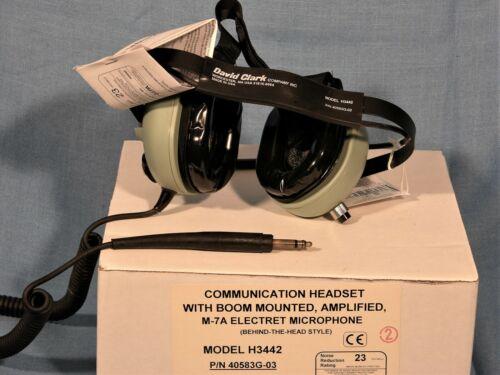 NEW David Clark H3442 Headset.