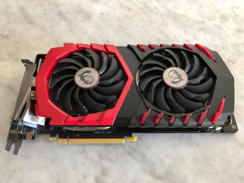 MSI Nvidia GTX 1060 GAMING EDITION 6GB GDDR5 Mint