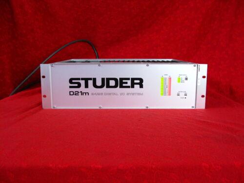 STUDER D21m  24/96 DIGITAL I/O SYSTEM FRAME FOR VISTA DIGITAL MIXING SYSTEM