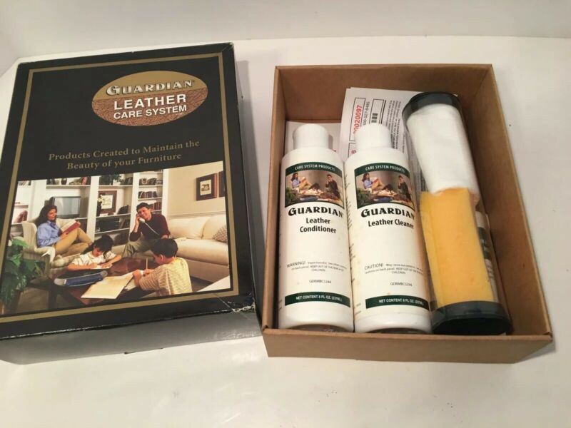 Guardian Leather Care System