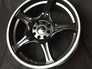 """17"""" WHEELS NEW 4/100 AND 4/108 BMW HOLDEN KIA NISSAN Fawkner Moreland Area Preview"""