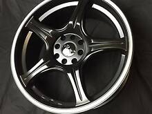 "17"" WHEELS NEW 4/100 AND 4/108 BMW HOLDEN KIA NISSAN Fawkner Moreland Area Preview"