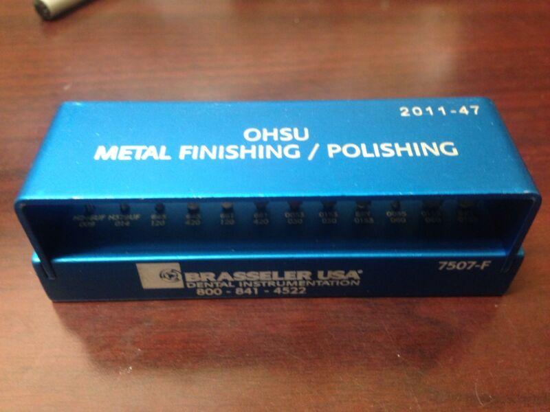 Metal Finishing Polishing Brasseler Kits