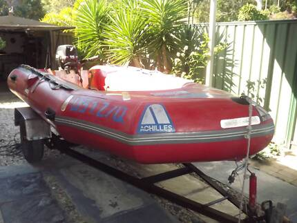 4MTS ACHILLES BOAT PLUS TRAILER Burleigh Heads Gold Coast South Preview