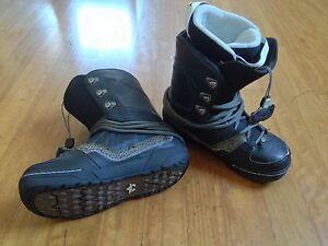 Rome SDS Libertine Black Snowboard boots Men's US 10.5 EUR 45 Redfern Inner Sydney Preview