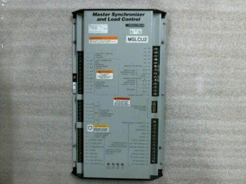 Used Woodward 9907-005 Rev M Master Synchronizer And Load Control - 60 Day Wnty