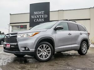 2015 Toyota Highlander XLE AWD V6 | NAVIGATION | SUNROOF | CAMER