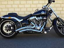 2013 Harley Davidson Breakout FXSB.  1700 CC. Cannington Canning Area Preview