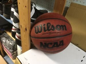Wilson solutions indoor leather game ball