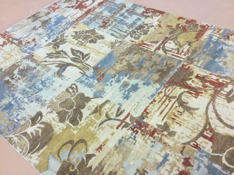 Wonderful 8x10 Modern Handmade Persian Oriental Area Wool Rug 7