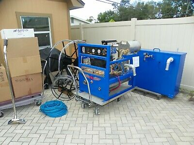Truck Mount Carpet Cleaning Machine Extractor Blue Baron 33 Se