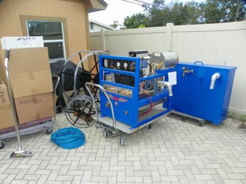 Truck Mount Carpet Cleaning Machine & Extractor Blue Baron 33 SE