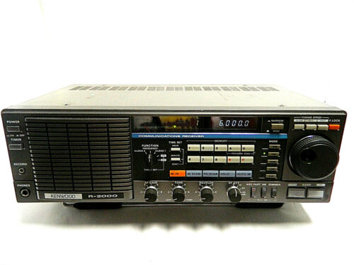 Kenwood R-2000 Communication Receiver with VHF Convertor 100%