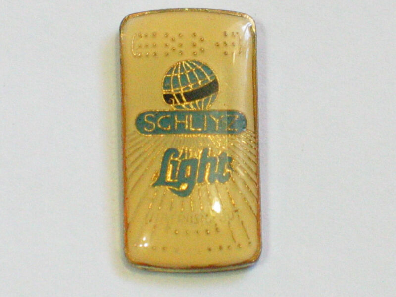 Vintage Schlitz Light Beer Can  Pin