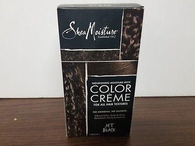 Moisturizing Black Hair - Shea Moisture Nourishing Hair Color Kit, Jet Black