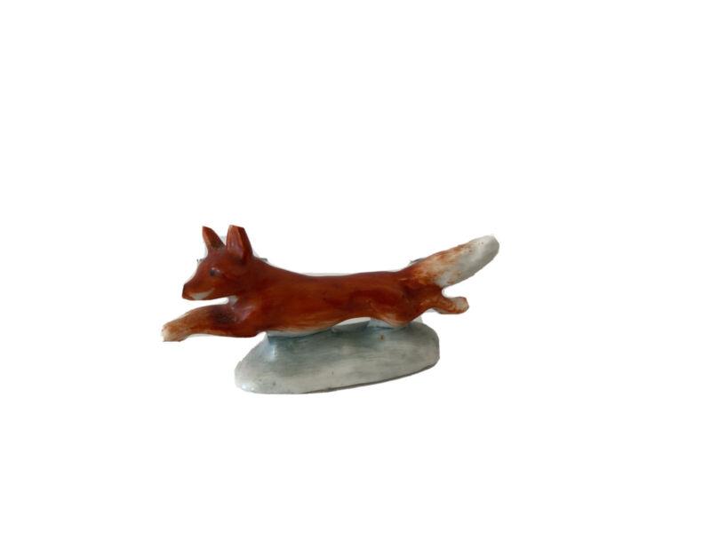 Vintage Stamped Germany Fox  Miniature