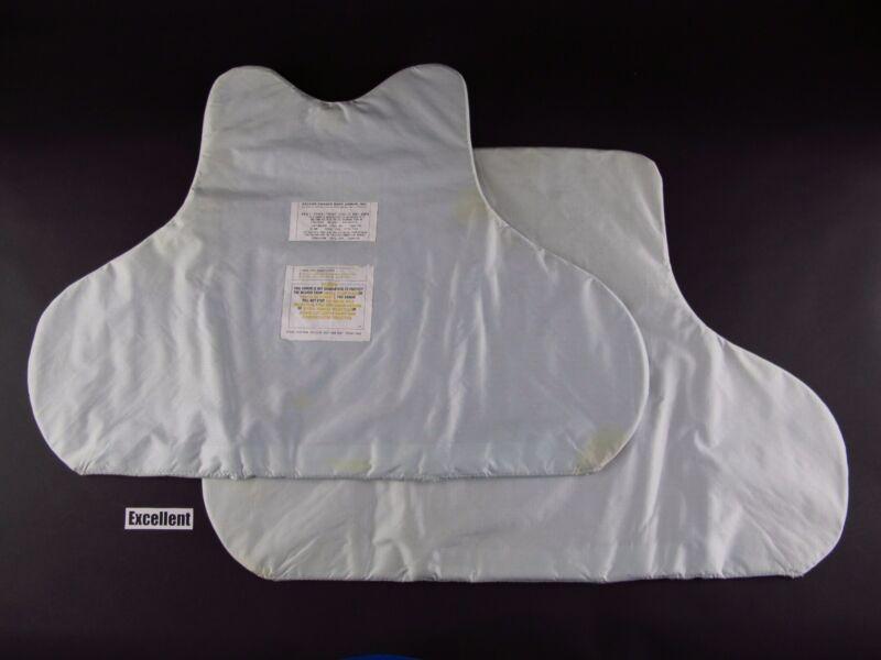 XL EX Body Armor Bullet Proof Vest Ballistic panels set Level 2 II