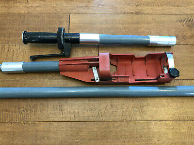 Hilti X-pt 351 Holder Grip Handle And Extension Pole Nice For Dx-351